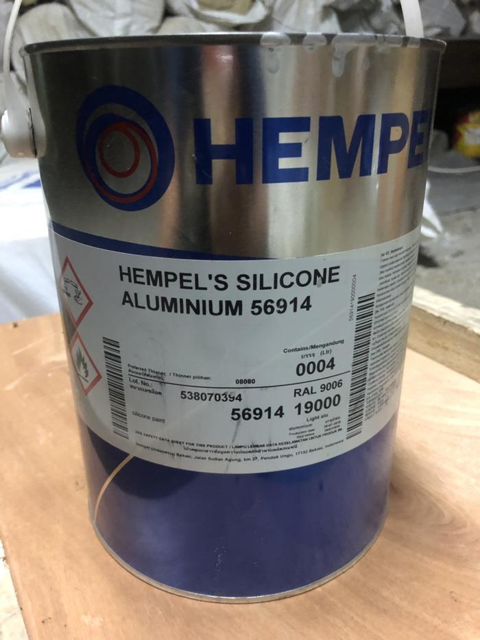 HEMPEL'S SILICONE ALUMINIUM 56914